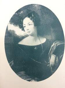 A portrait of Anne Biddle