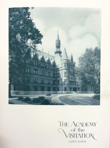 A photograph from a 1933 booklet celebrating the Academy's 100th anniversary