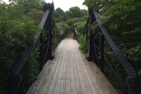 Forest Park's 1885 Victorian Bridge